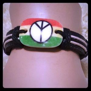 Jewelry - Peace Bracelet. NEW NO TAG